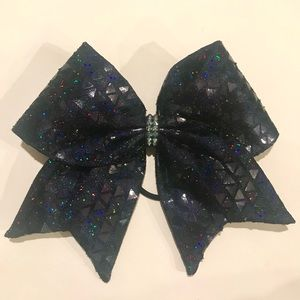 Fabric cheer bow